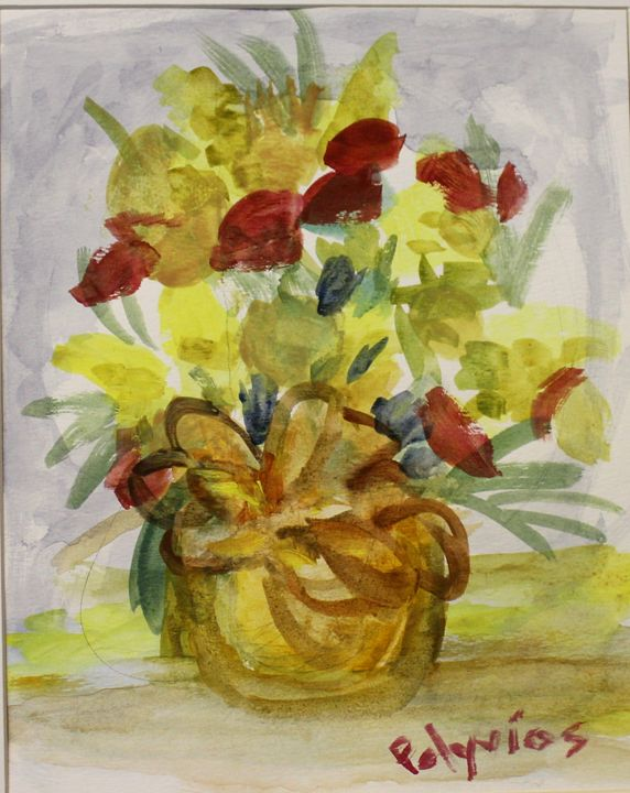 Spring in a Vase - Polyvios' Paintings Etc.
