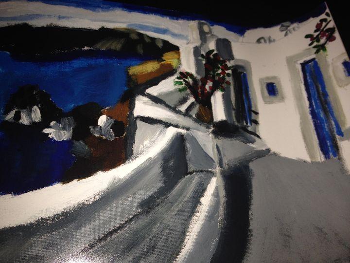 Greece Resort - Polyvios' Paintings Etc.