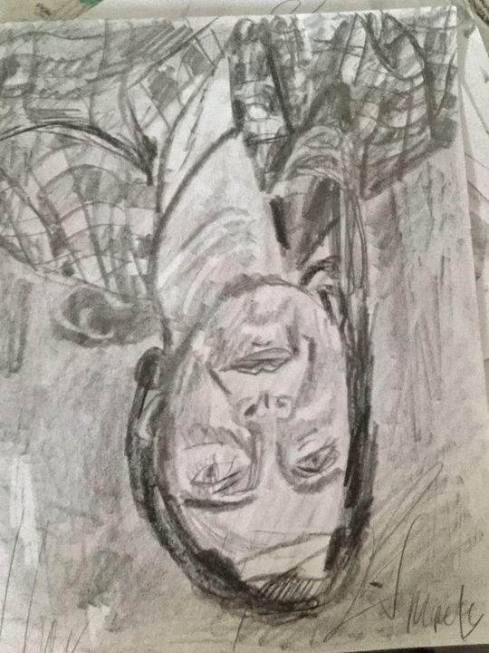 An Upside Down Sketch - Polyvios' Paintings Etc.