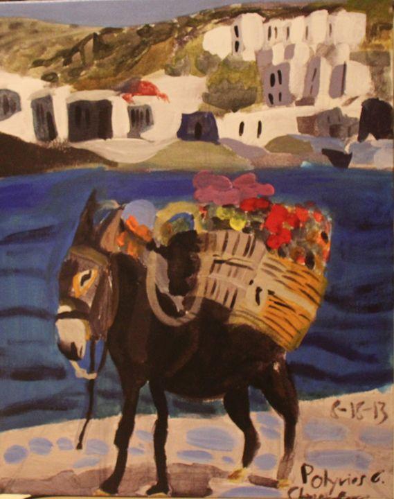 Grecian Packmule - Polyvios' Paintings Etc.