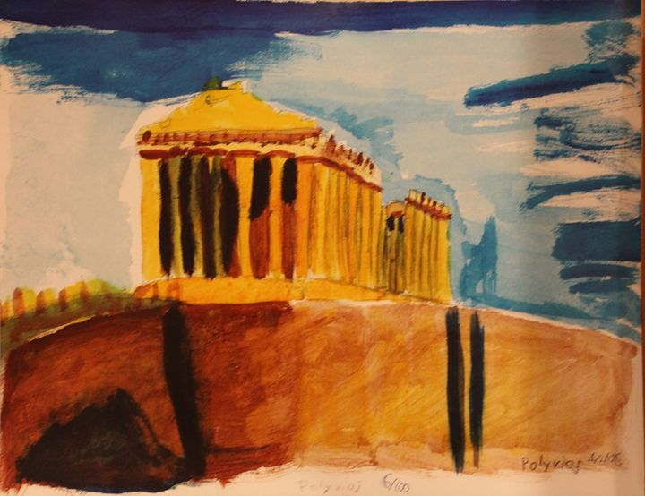 The Acropolis (LIMITED EDITION) - Polyvios' Paintings Etc.