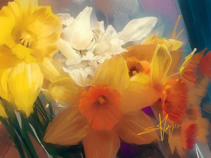 Daffodils - Evgeny Kazantsev