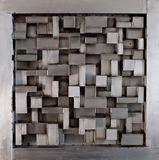 46x46 steel wall sculpture