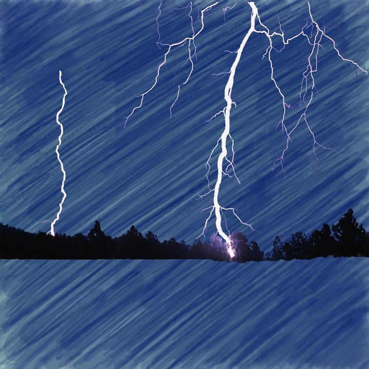Lightning Strike - Laurence D