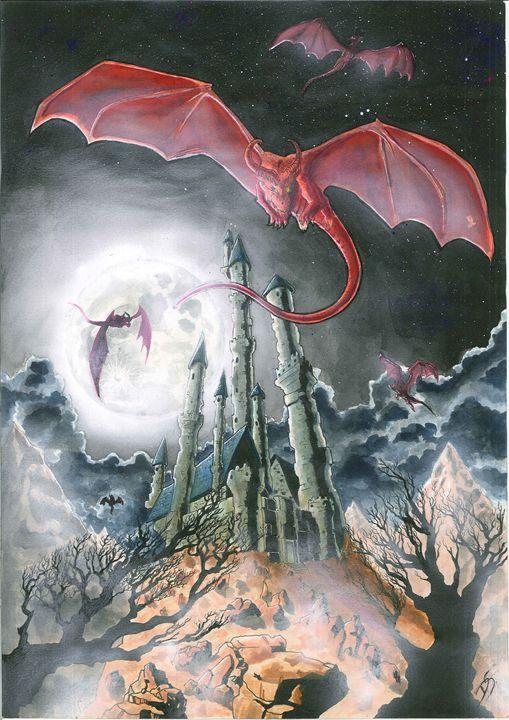 Dragon's Moonlight - Daniel Strazzabosco