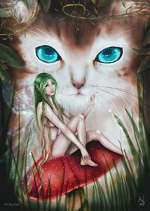 Fairy and Cat