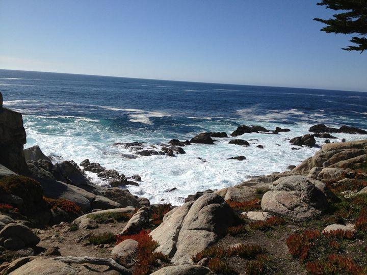 Rocky View Off Pebble Beach - R.P. Abrams