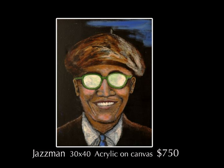 Jazzman 44 - Robert Barlow Art