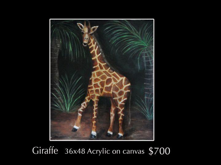 Giraffe - Robert Barlow Art