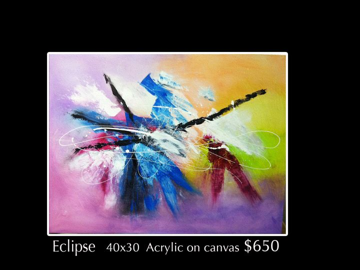 Eclipse - Robert Barlow Art