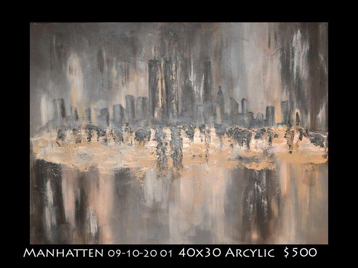 Manhatten 910 - Robert Barlow Art
