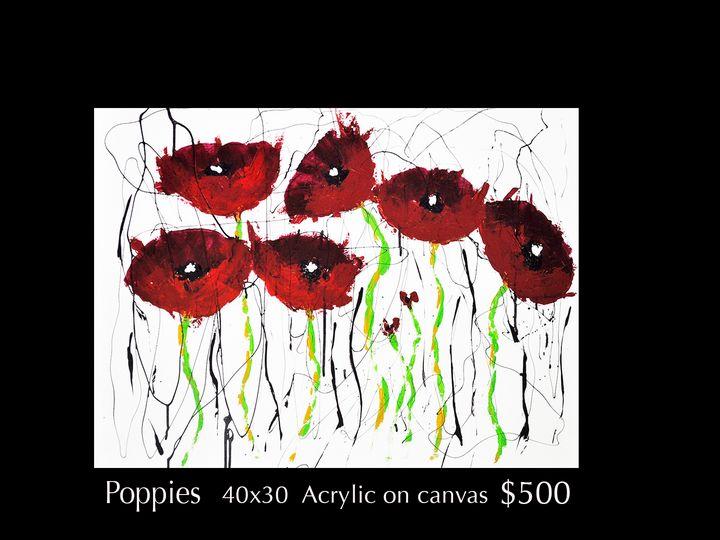 Poppies - Robert Barlow Art