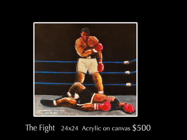 The Fight - Robert Barlow Art