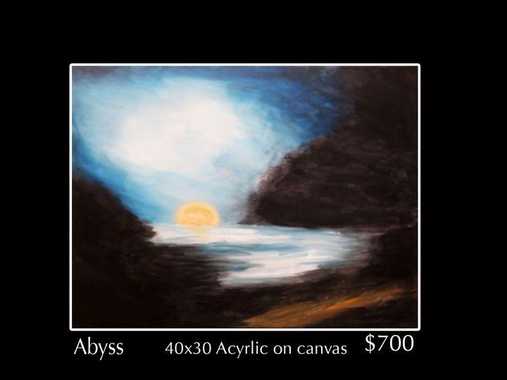 Abyss sunset - Robert Barlow Art
