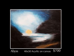 Abyss sunset