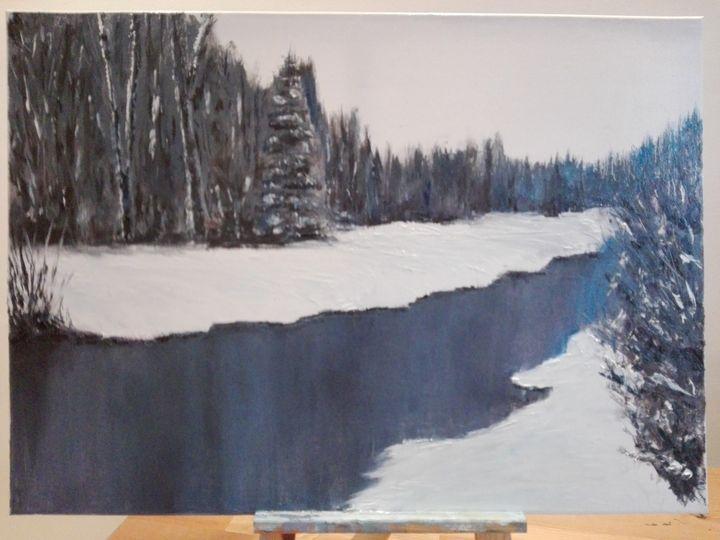 Winter river - Sommelier