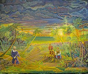 """Floutin with Disorder"" - Caribbean Pirate Art & Seascape Decor"