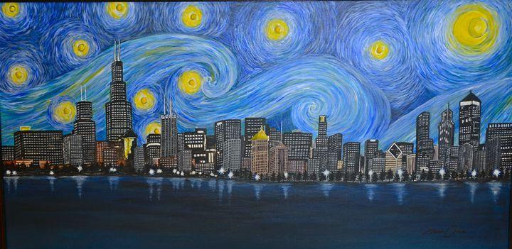 Chicago Skyline - Ochoa Designs
