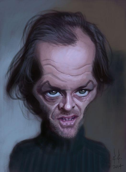 Jack Nicholson - My best caricatures