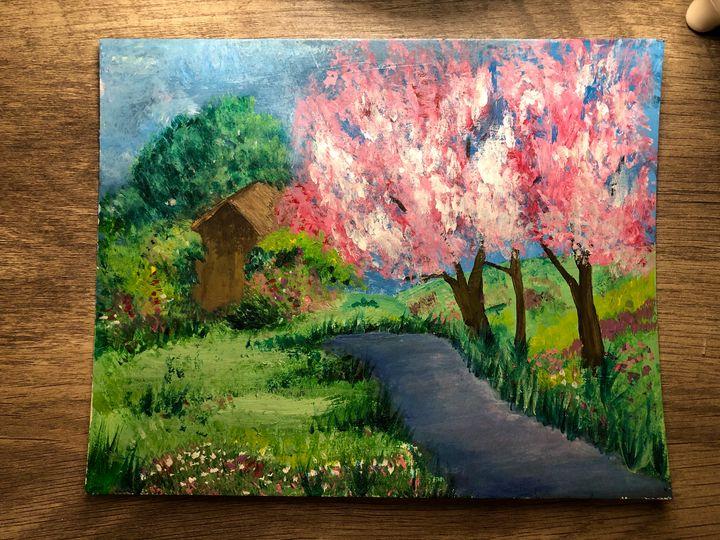 Acrylic painting - Charity Faith