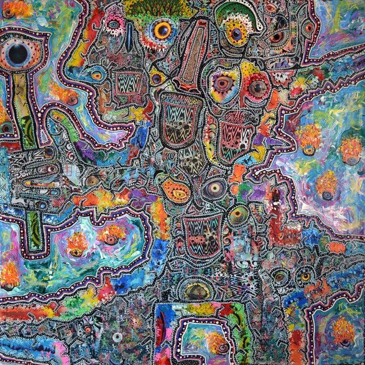 The Singer - The Strange Art of Greg Bromley