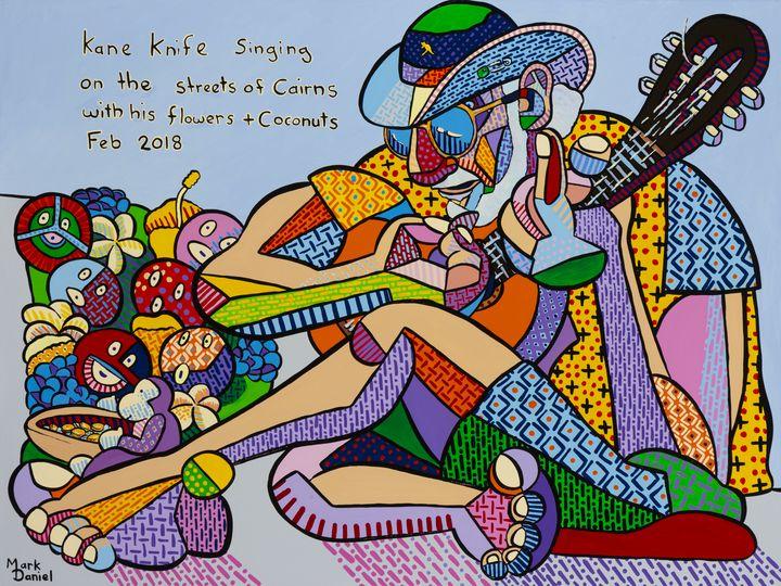 Cane Knife John - Mark Daniel Art