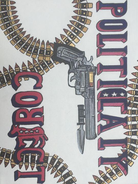 Comedic/political art - Ian Fox