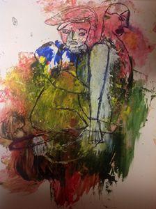 The Vintriloquist - Wilfert Art Gallery