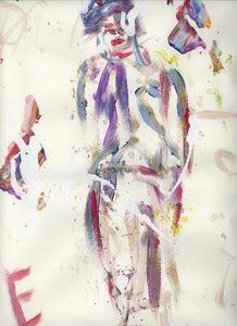 The Wandering Clown - Wilfert Art Gallery