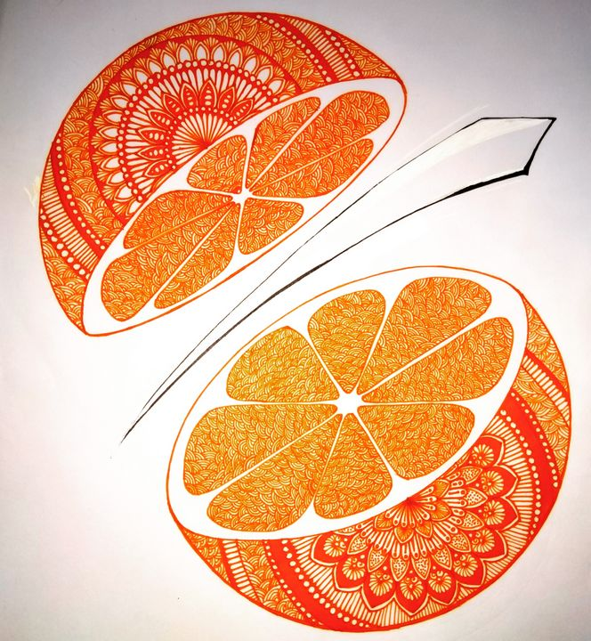 Sliced Orange - Sowmya