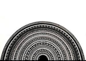 Semicircle Mandala