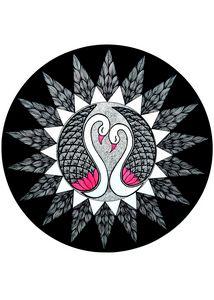 Swan Mandala