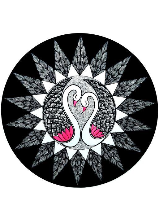 Swan Mandala - Sowmya