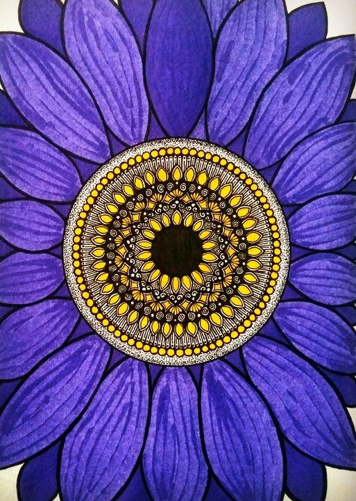 Purple flower - Sowmya