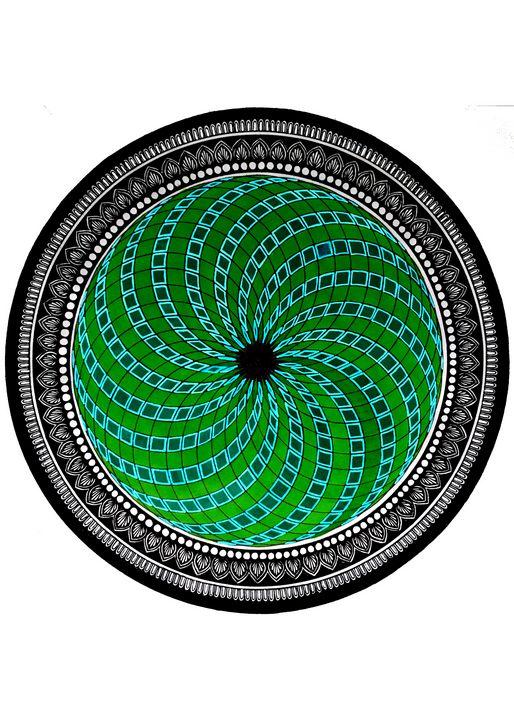 Geometric Mandala - Sowmya