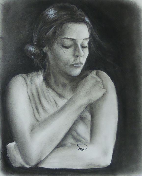 Alone - Shajan Art