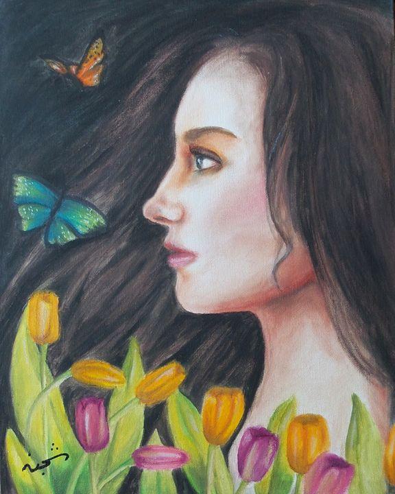 Spring breeze - Shajan Art