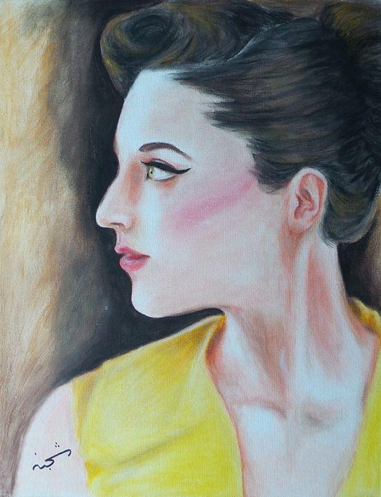 Vintage beauty - Shajan Art