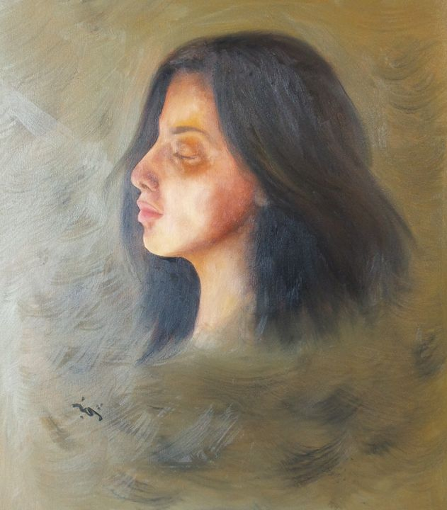 Silence - Shajan Art