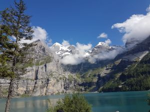 Oeschinensee lake view 1