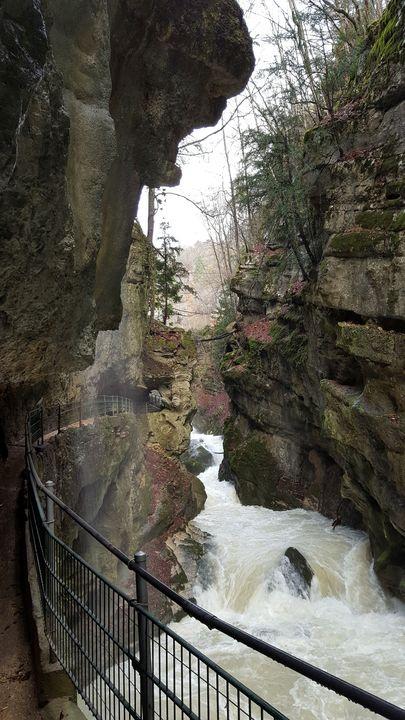 TaubenLoch Gorge - NubesDesignCH