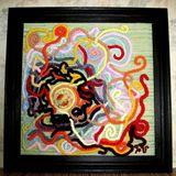 hand woven art textile