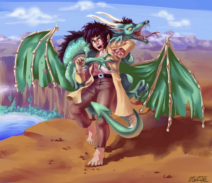 Stupid Dragon! - NeonnDreamer