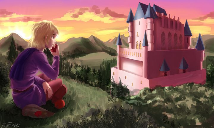 Castle View - NeonnDreamer