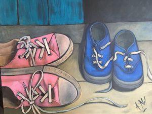 Shoes - Littlebluetin