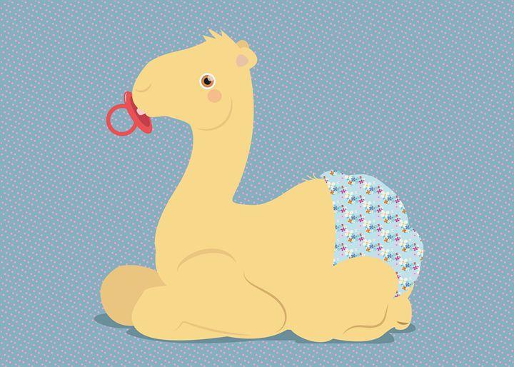 giraph baby - Vera, Chuck & Dave