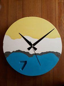 Decorative Concrete Wall Clock