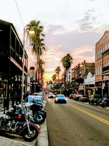YBOR CITY SUNSET