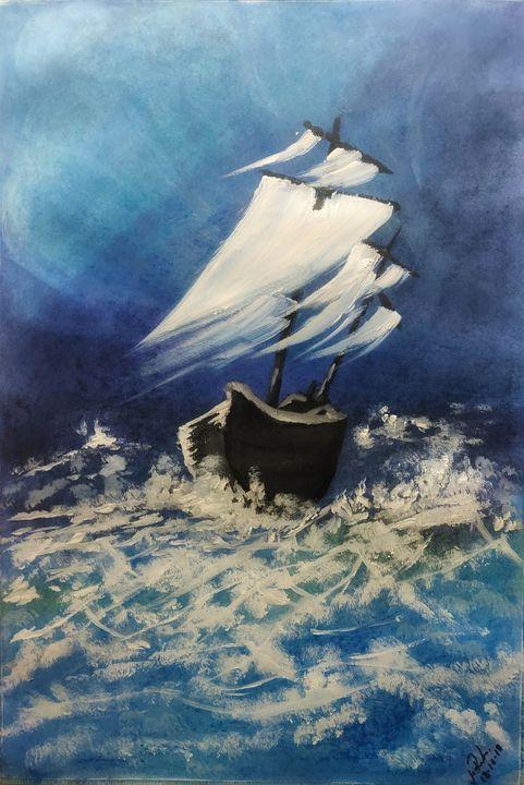 The Surviving Ship - Mahfuz's Gallery