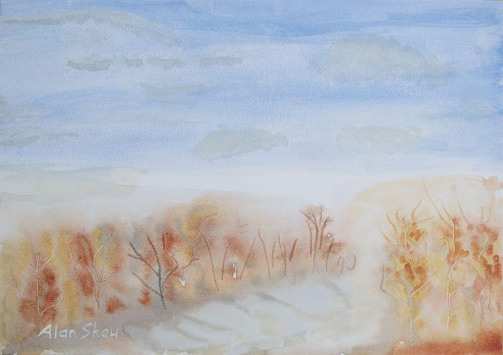 Autumn Trees. - Alan Skau